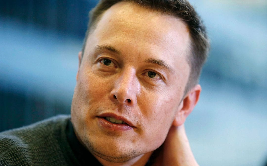 Icons of Restless Thinking: Elon Musk
