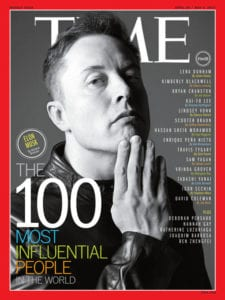 Elon Musk - icon of restless thinking